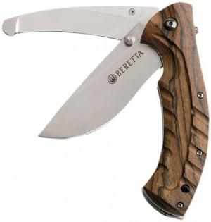 Navaja de caza madera Beretta 1