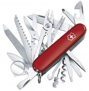 Navaja suiza, color rojo Victorinox 1.6795 Swisschamp 1